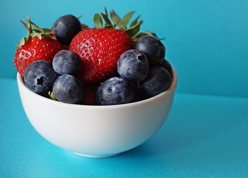 to show healthy berries are a super food