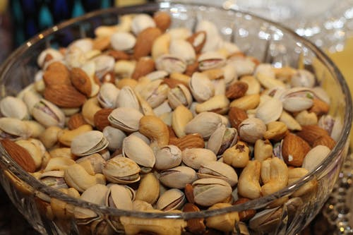 Nuts are a super food, and a delicious healthy fat.